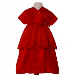 SALE Baby Girls Red Dress