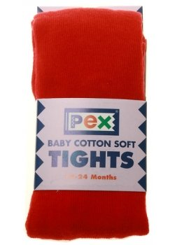 PEX Winter Red Tights For Babies and Toddlers