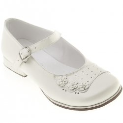 SALE Baby and Toddle Girls White Mary Jane Shoes