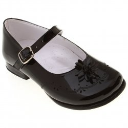 SALE Toddler Girls Classic Black Patent Mary Jane Shoes