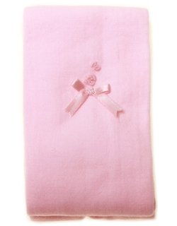 High quality Pretty Originals baby girls pink tights with embroideries and bow