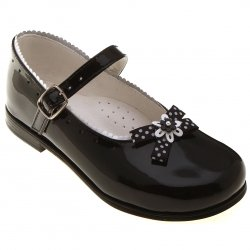SALE Toddler Girls Black Mary Jane Shoes Patent Leather