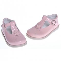 Girls Pink Patent Shoes For Special Occasion
