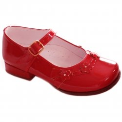 SALE Girls red patent Mary Jane shoes by Pretty Originals