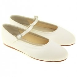 Abigail Infants Bridesmaid or Flowergirl Ivory Shoes