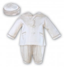 Sarah Louise Baby Boys Silk Christening Outfit