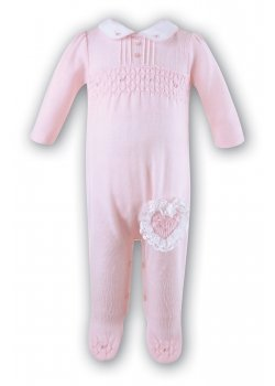 bb484327439d Sarah Louise Girls Pink Romper