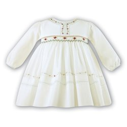 Sale Sarah Louise Dresses Baby Girls Ivory Smocked Dress