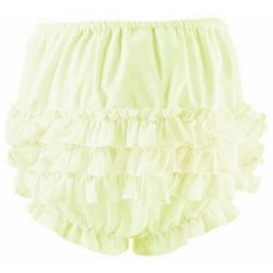 Sarah Louise Lemon Yellow Frilly Knickers Panties