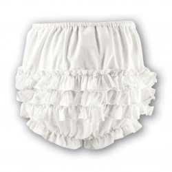 Sarah Louise Frilly Panties knickers in ivory
