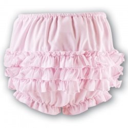 Sarah Louise Frilly Panties knickers in pink