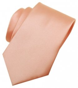 5 To 16 Years Peach Colour Boys Tie