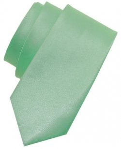 5 To 16 Years Light Green Colour Boys Tie