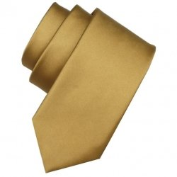 5 To 16 Years Boys Tie in 24K Dark Gold