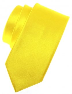 5 To 16 Years Bright Yellow Boys Tie