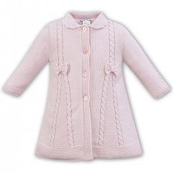 Very Pretty Soft And Warm Sarah Louise Baby And Toddler Girls Knitted Pink Coat