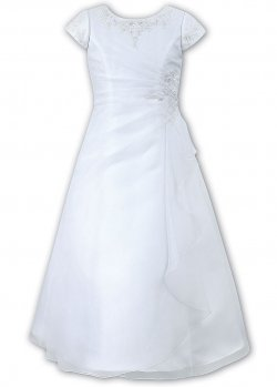 Sarah Louise Beaded White Holy Communion Dress