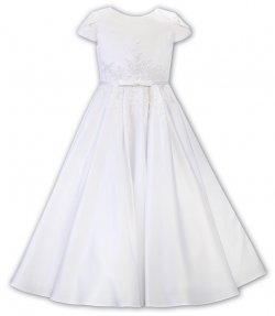 Sarah Louise First Holy Communion Dress With Beads And Sequins