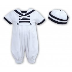 Sarah Louise Baby Boys Smart Sailor Outfit For Special Occasions