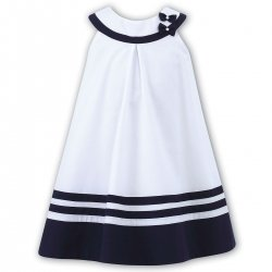 Elegantly Simple Sarah Louise Girls Nautica Dress