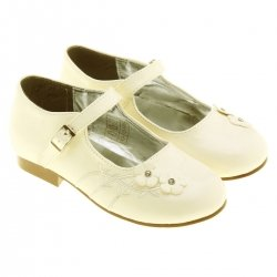 Sales Kids and junior bridesmaid ivory shoes