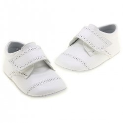 Baby Boys White Shoes leather patent  shoes