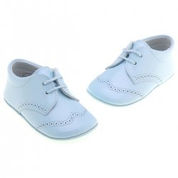 Vecro Fastening Baby Boys Blue Shoes