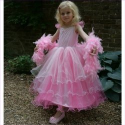 Pink Princess Frilly Milly Dressing Up Costume