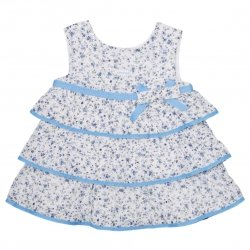 Sale Tutto Piccolo Sale Baby Girls Blueberry Dress