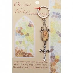 Communion Gift Key Ring On Gift Card