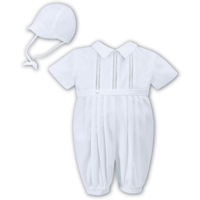 Sarah Louise Baby Boys White Christening Outfit