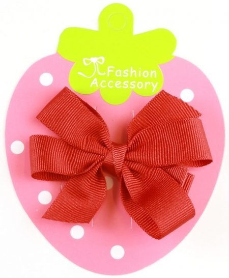 Boutique Hair Bow in red
