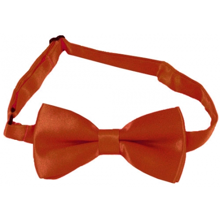 Boys Bow Tie in Dark Orange Colour