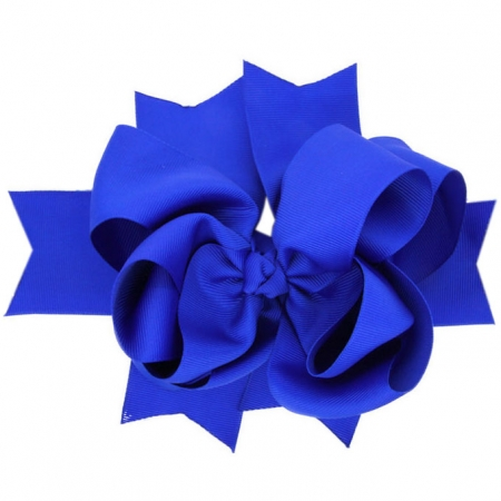 Large 8 inches Royal Blue Row