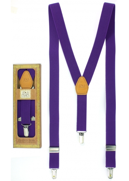 Quality Childrens Purple Braces 6 to 13 years