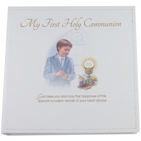 Boys First Holy Communion Photo Album