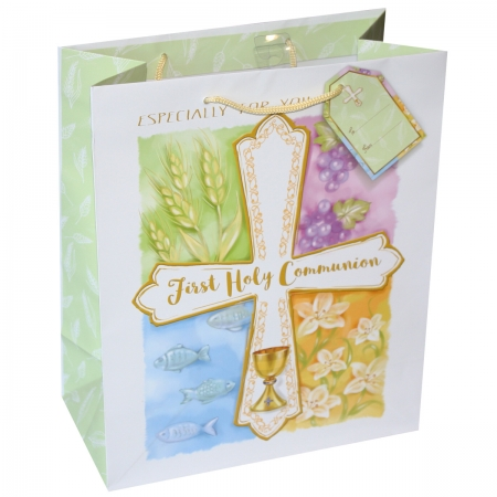 First Holy Communion Gift Bag Large Paper Bag