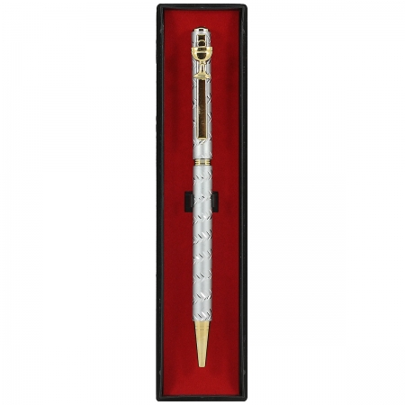 First Holy Communion Gift Pen In Silver With Gold Chalice
