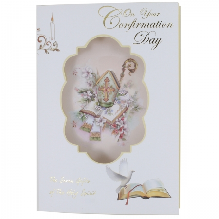 Confirmation Card With 3D Pillow Effect