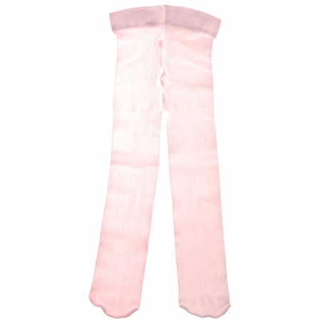Condor Baby Girls Thin Pink Tights For Special Occasions