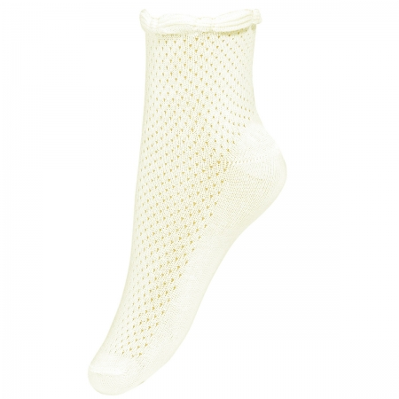 Girls Summer Dress Socks In Ivory