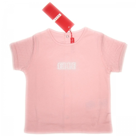 E95085 girl Elle t shirt in PINK