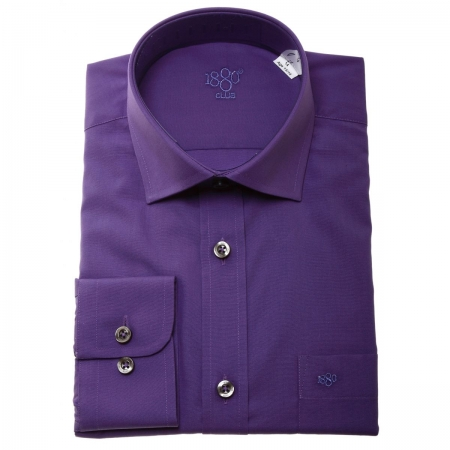 Boys Purple Shirt By 1880 Club