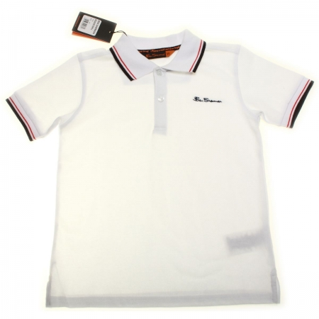 Ben Sherman boys white polo