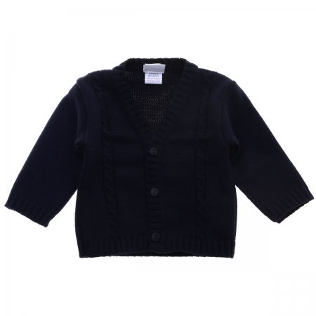 Made in Portugal Baby Boys Navy Cardigan