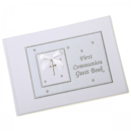 Boys And girls First Communion Guest Book