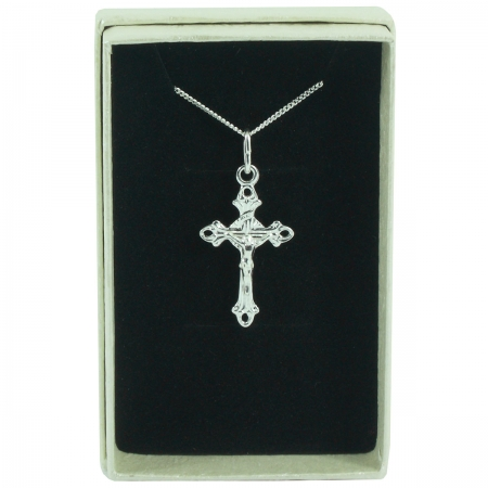 Annulet Cross Communion Pendant Necklace In Gift Box