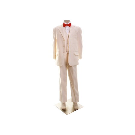 Boys ivory suit set 3 piece