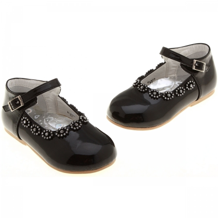 SALE Baby and toddler girls black patent shoes sales