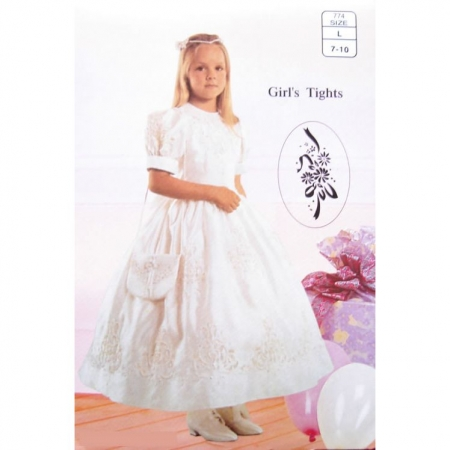 Girl Communion Tights Or Special Occasions Tights